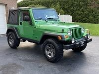 2005 Jeep Wrangler Rubicon in Electric Lime Green ONLY 68,900 Miles,